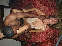 beautiful white women in interracial porn from Homemade Interracial Sex