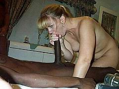 huge black cock interracial mouth fuck from Homemade Interracial Sex