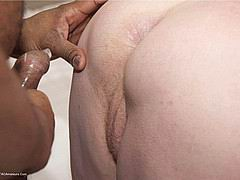 BBW granny with huge tits enjoying big black dick from Tac Amateurs
