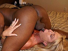 white amateur chicks sucking big black cocks