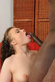 White girl gets her ass pounded by black dick