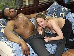 white wives getting banged by black cocks from Homemade Interracial Sex