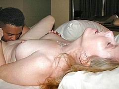 Interracial hot wives fucking gangbangs
