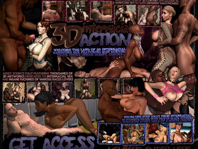3D interracial action adult source fully featuring thousands of 3d artworks dedicated to interracial sex and insane fuckings of various races lovers